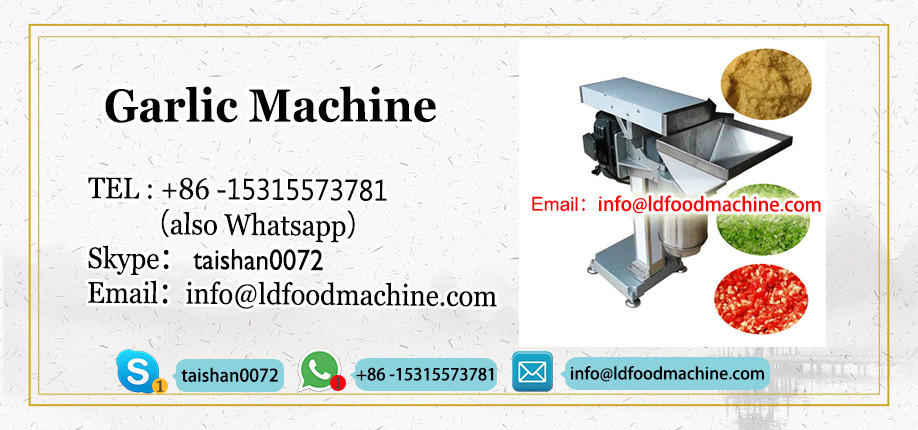 Garlic paste cracking machine