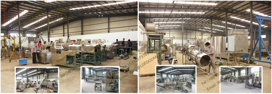 Fried Pallet Chips Making Machinery,snack pellets processing machine,single screw extruder fried pellets