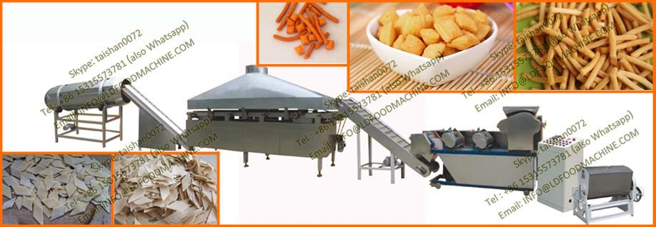 Wheat Flour Snack Extruder/Fried Wheat Flour Bugle Machines