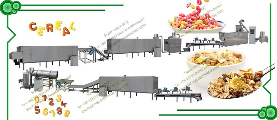 2017 cereal bar process line of high quality