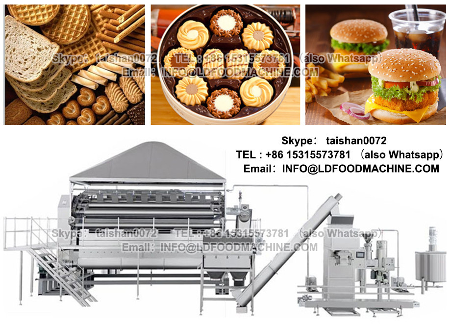 Professional wafer biscuit machine / wafer production line