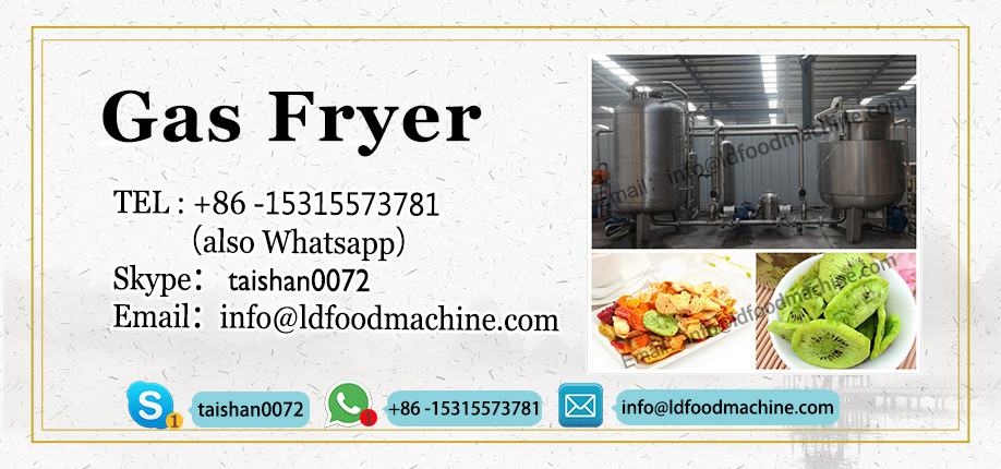 commercial gas heating frying machine/gas deep fryer machine