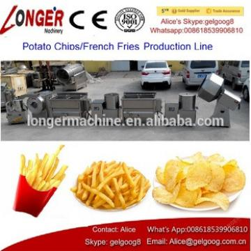 2017 Hot Selling Potato Chips Production Line French Fries Making Machine