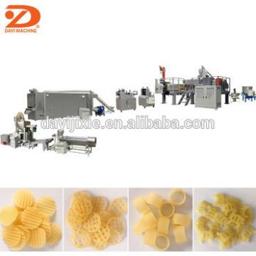 Extruded Potato chips 3d snack pellets making machine