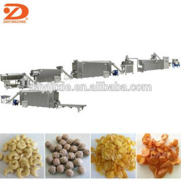 High quality low consumption corn flakes machine