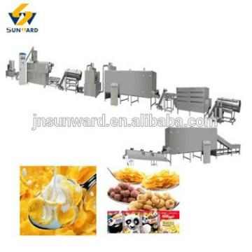 Corn Flakes For Breakfast Production Line, cereal flake processing machine