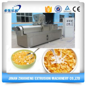 China Automatic Breakfast Cereal Corn Flakes Making Machine