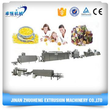 200-300kg/h Automatic Bulk Corn Flakes Breakfast Cereals Machine