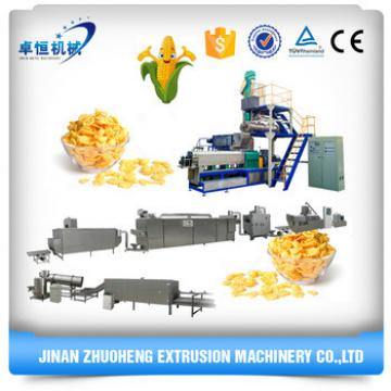 Extruded Corn Flakes Breakfast Cereals Production Equipment