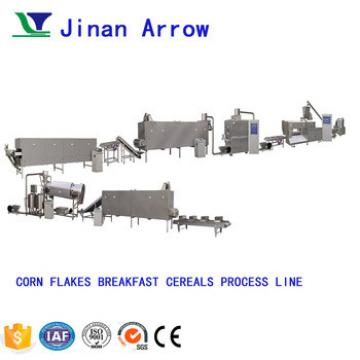 200kg h Fully Automatic Corn Flakes Production Line Breakfast Cereal Making Machine