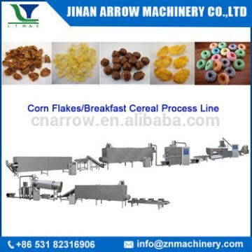 Best quality breakfast cereals corn flakes production machine