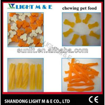 pet dog chewing snacks food processing machine