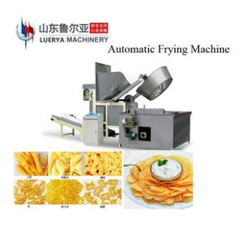 Semi/fully-automatic potato chips making machine / production line.