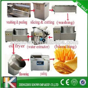 used automatic potato chips machine/ potato chips making machine for french fries