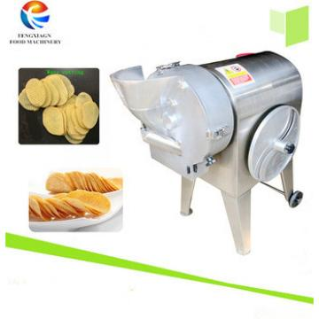 Industry commercial Potato Chips making slicing wave cutting machine, vegetable cube Dicer