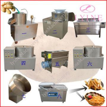 potato chips making machine/semi automatic french fries potato chips machine/potato chips production line for sale