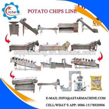 Semi and Fully Automatic Potato Chips Making Machine/Fresh Potato Chips Machine