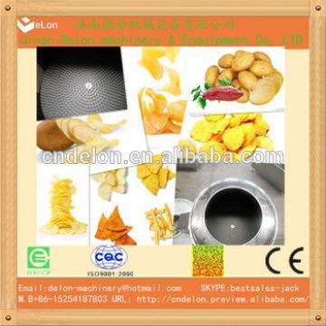 High quality natural potato chips Making machine