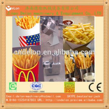 jinan delon small scale potato chips making machine