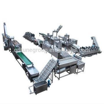compound potato chips production line/ frying machine/ potato chips making machine