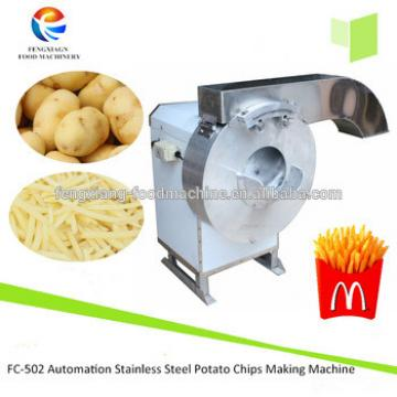 FC-502 Automation Stainless Steel French fries Making Machine/Taro Cutting machine Potato Processing Machine