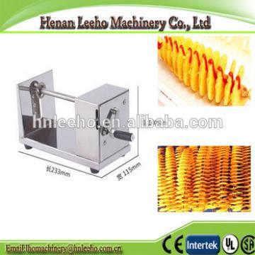 low price manual spiral potato tower making machine . potato/slicer chips cutter