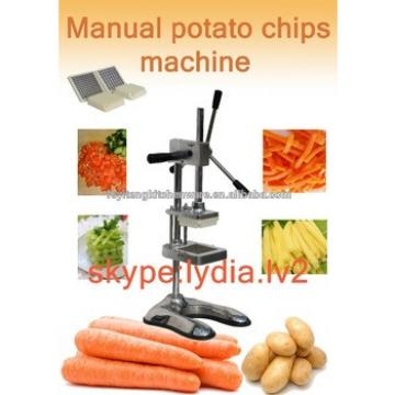 Manual Stainless Steel Potato Chips Cutting Machine