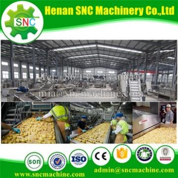 SNC French fries or Potato chips machine China supplier sweet potato chips making machine