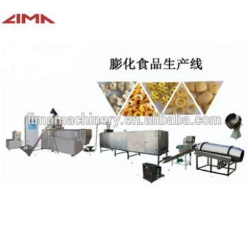 Professional corn flakes breakfast cereals production processing line with high quality