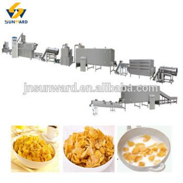 Food machine corn flakes machine, breakfast cereal food production line , corn flake machinery