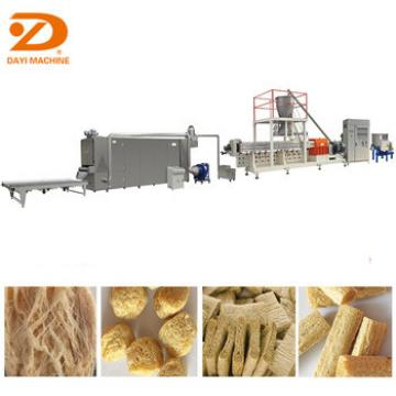 Textured Soya Protein Equipment /soy meat hot dog making machine