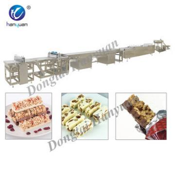 Hot Sale Automatic Granola Bar Grain Bar Nuts Bar Making Machine with Big Capacity