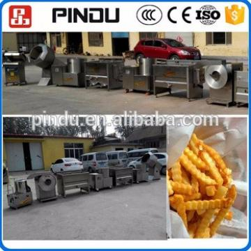 semi-automatic industrial potato chips french fries equipments making machine price