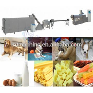 single screw different color dog chews food making machine