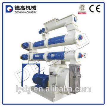 High capacity small animal feed pellet mill machinery