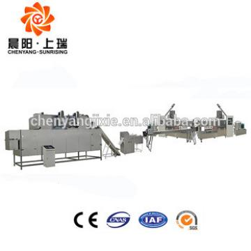 Chewing center filling extruded dog treat processing machine