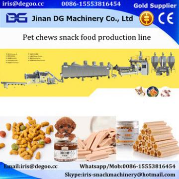 Fully automatic pet chews pet treats dog food making machine
