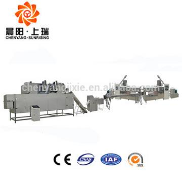 Most popular high quality chewing pet food extruder machine
