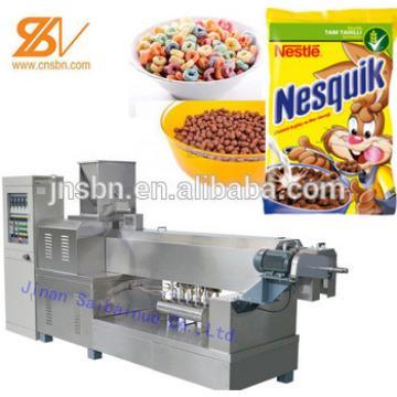 Breakfast cereals snacks food production machine