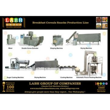 Breakfast Cereals Snacks Production Line