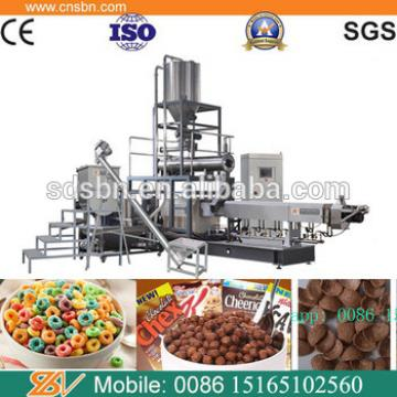 Crunchy Con Flakes Breakfast Cereals Food production machine
