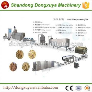 Automatic Cereal Breakfast Corn Flakes Making Machine
