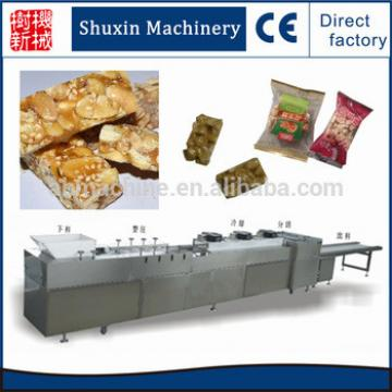 brittle sugared peanuts candy cutting machine breakfast cereal making machine