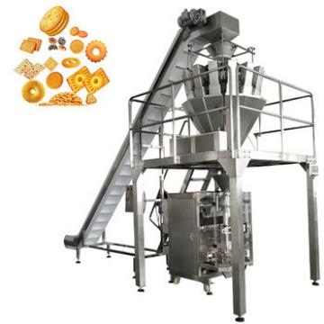 breakfast cereal soda biscuit cookie packing machine with multihead weigher machine