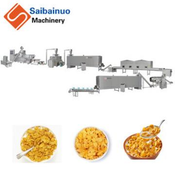 China manufacturer corn flakes cereal production line with high quality