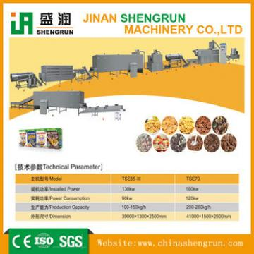 new tech Breakfast Cereals Extrusion Machines