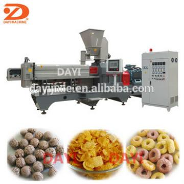 China Factory direct sale corn flakes making machine