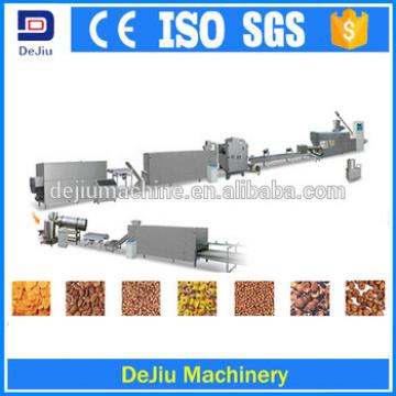 Full automatic and customized grain extruder production line for corn flakes/ Snacks and breakfast cereal making line
