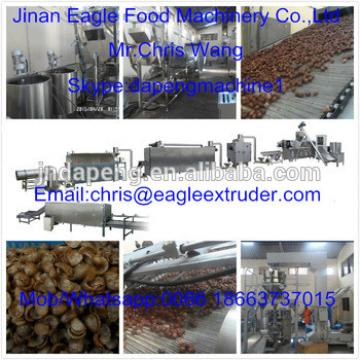 High Efficiency Corn Flakes Breakfast Cereals Food Processing Machine 50 - 170kw