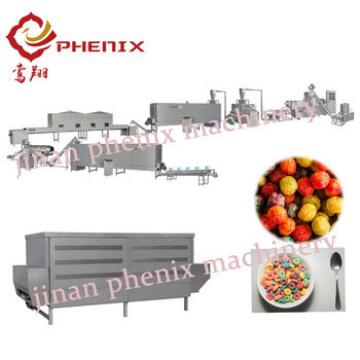 chocos flakes breakfast cereal extruder production machine